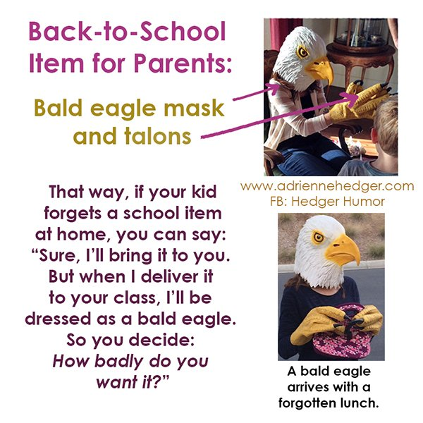 Dressed as a bald eagle - Updated 2016-600